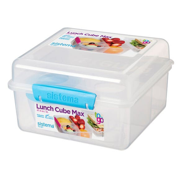 Sistema Lunch Cube & Yog Pot Clear