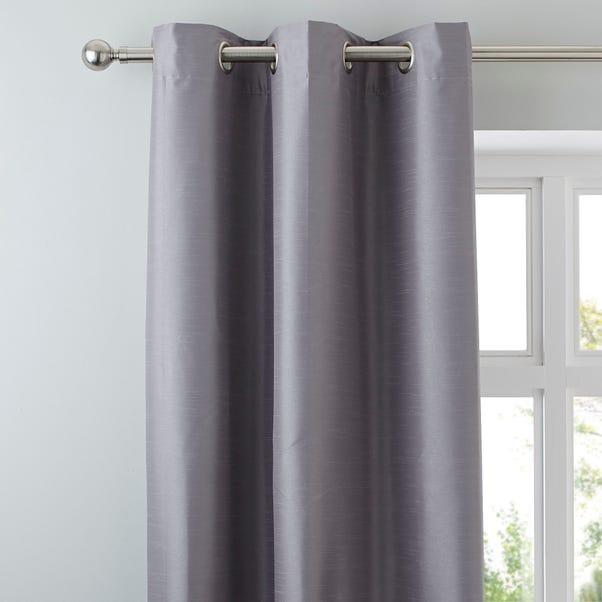 Nova Grey Blackout Eyelet Curtains  undefined