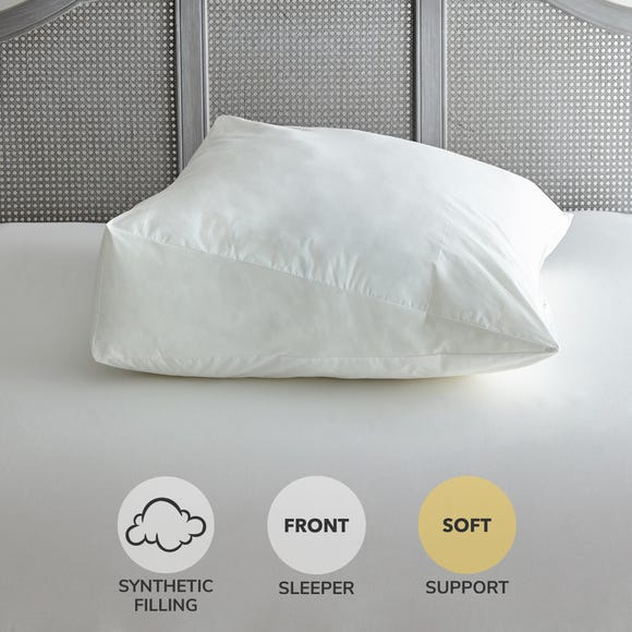 Wedge Support Soft-Support Pillow White