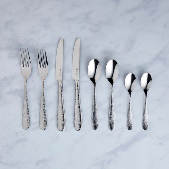 Viners Glamour 24 Piece Cutlery Set Silver