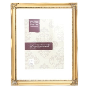 "Gold Vintage Photo Frame 6"" x 4"" (15cm x 10cm)"