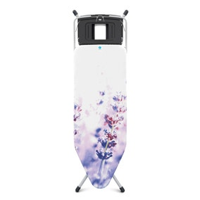 Brabantia Lavender Ironing Board with Steam Unit Holder