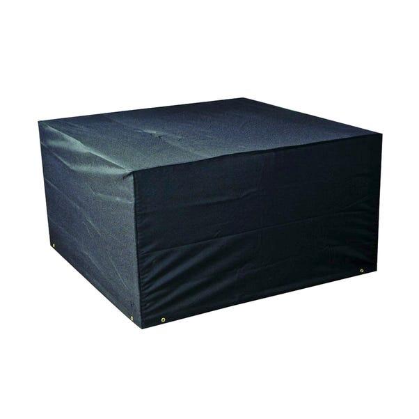 Medium 4 Seat Cube Set Cover Black