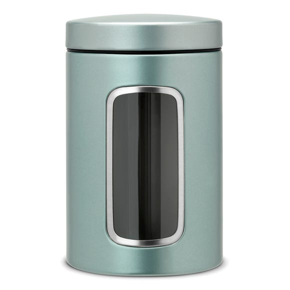 Brabantia Window Canister Mint (Green)