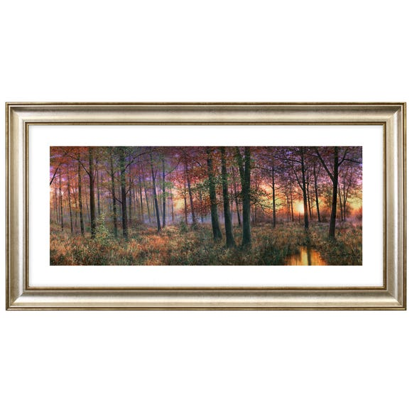 Dorma Golden Coppice Dawn Framed Print Multi Coloured
