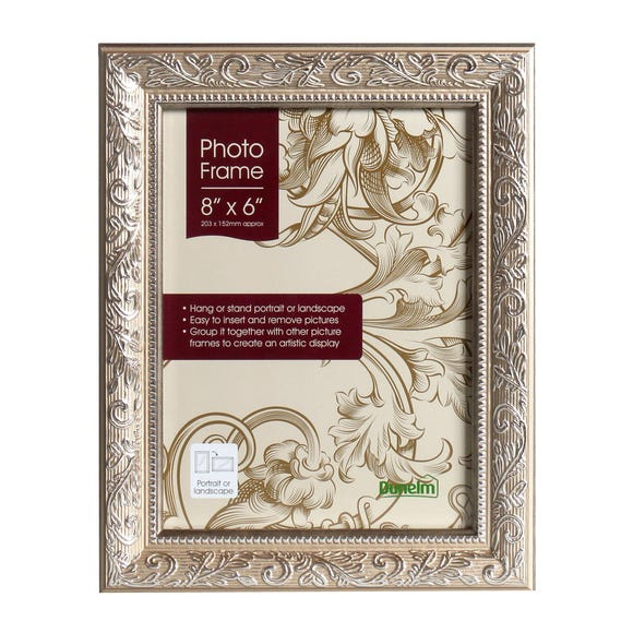 "Champagne Ornate Photo Frame 8"" x 6"" (20cm x 15cm) Champagne (Natural)"