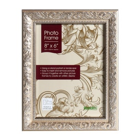 "Champagne Ornate Photo Frame 8"" x 6"" (20cm x 15cm)"