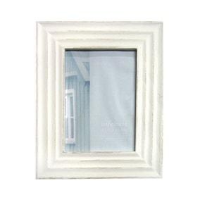 "Distressed Cream Photo Frame 7"" x 5"" (18cm x 12cm)"