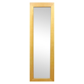 Wooden Wall Mirror Natural