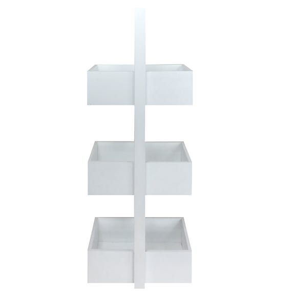3 Tier Bathroom Caddy White