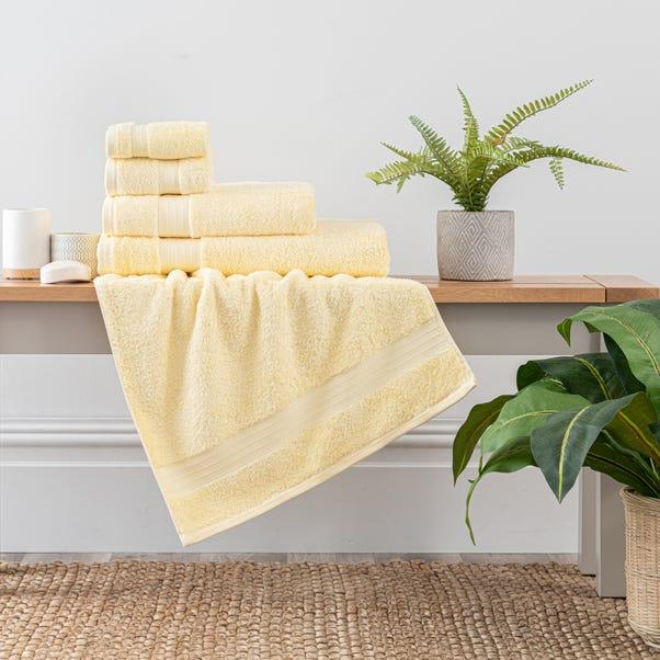 Lemon Egyptian Cotton Towel  undefined
