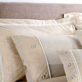 Millie Natural Oxford Pillowcase