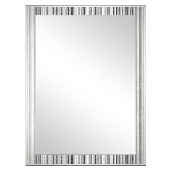 Vertical Sparkle Edge Mirror Silver undefined