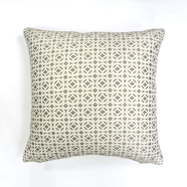 Agadir Cushion Cover Mink undefined