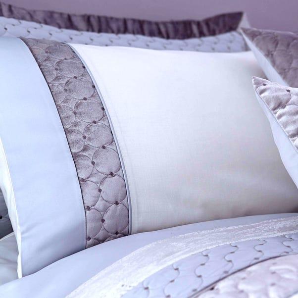 Vienna Silver Housewife Pillowcase Silver