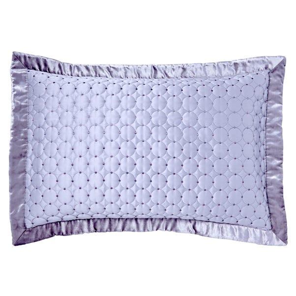 Vienna Silver Pillow Sham Silver