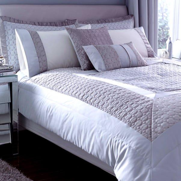 Vienna Silver Bedspread Silver undefined
