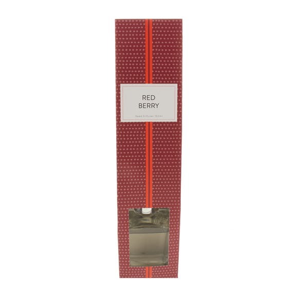 Home Fragrance Red Berry 150ml Reed Diffuser Red undefined