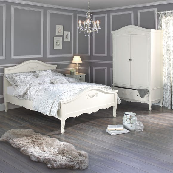 Toulouse Ivory Bedstead Ivory undefined