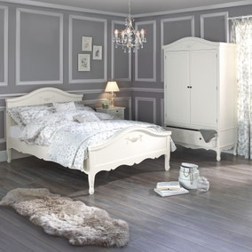 Toulouse Ivory Bedstead