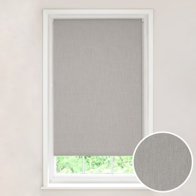 Solar Grey Blackout Roller Blind