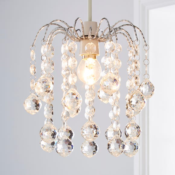 Amie Jewel Easy Fit Pendant Clear