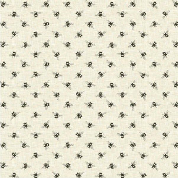 Bees Linen Cotton Fabric