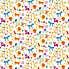 Jungle Boogie Multicoloured Cotton Fabric  MultiColoured