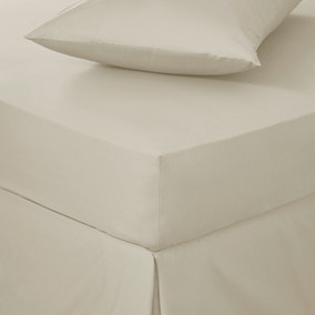 Easycare 100% Cotton 180 Thread Count Fitted Sheet