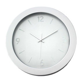 Hudson 38.5cm Wall Clock Grey