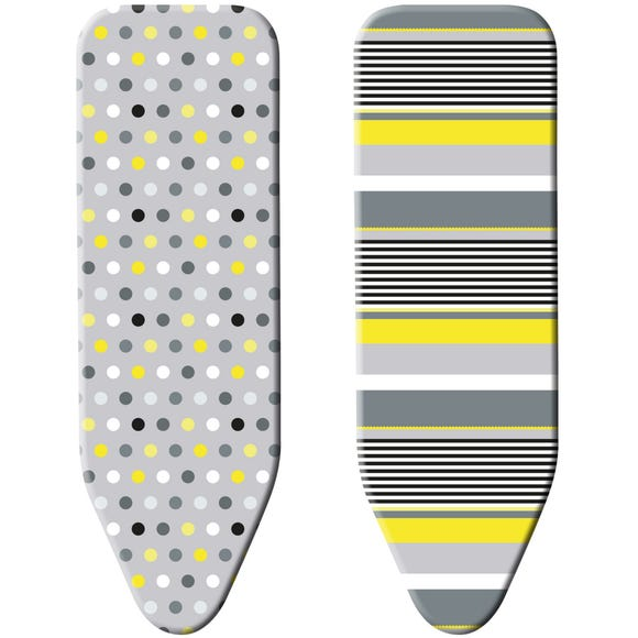 Minky Smart Fit Reversible Ironing Board Cover MultiColoured