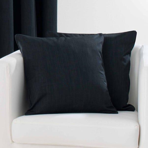 Solar Cushion Cover Black undefined