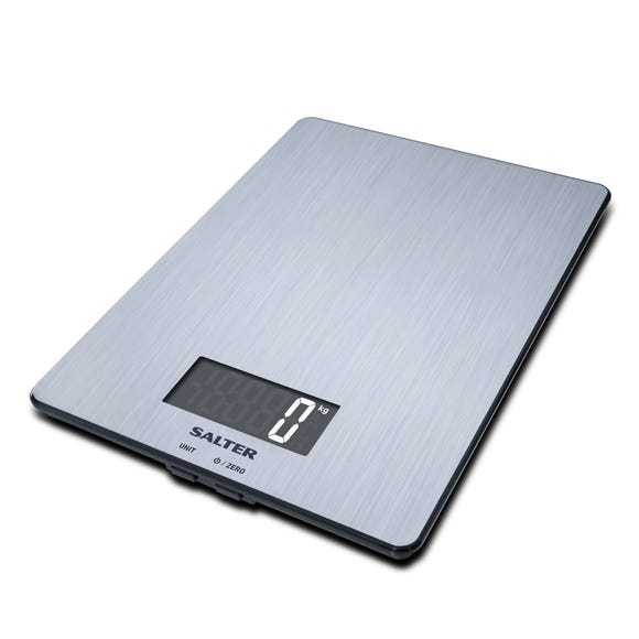 Salter Electronic Kitchen Scales Stainless Steel