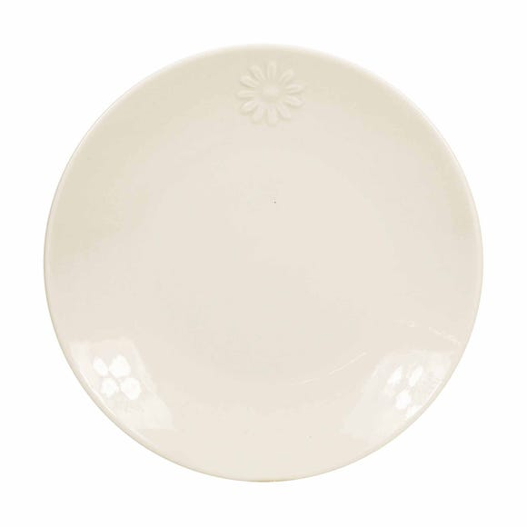 Daisy Side Plate White