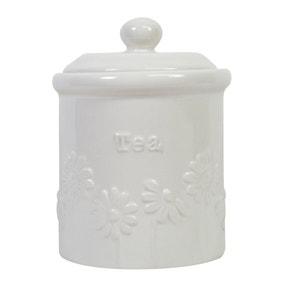 Daisy Tea Storage Canister