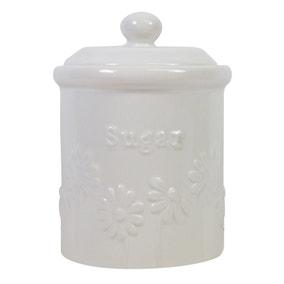 Daisy Sugar Storage Canister
