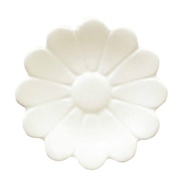 Daisy Tea Bag Tidy White