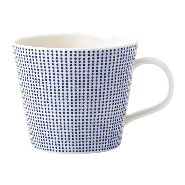 Royal Doulton Pacific Dot Mug Blue