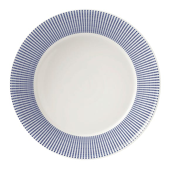 Royal Doulton Pacific Dot Pasta Bowl Blue
