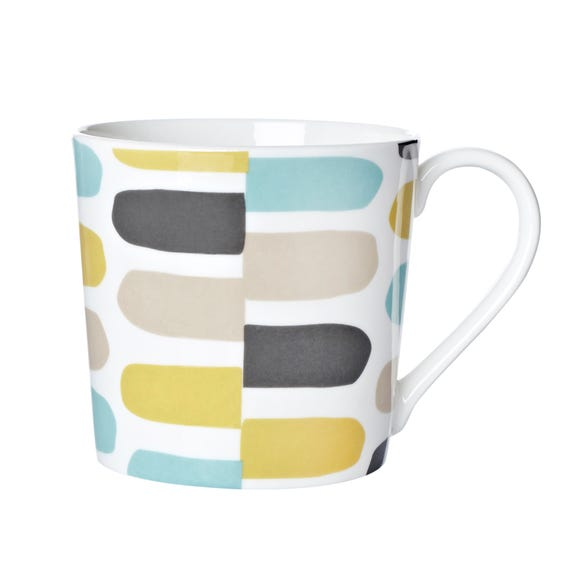 Geo Marker Dorset Mug MultiColoured