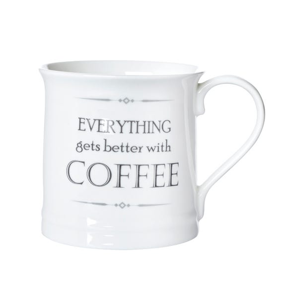 Everything Gets Better With Coffee Mug White
