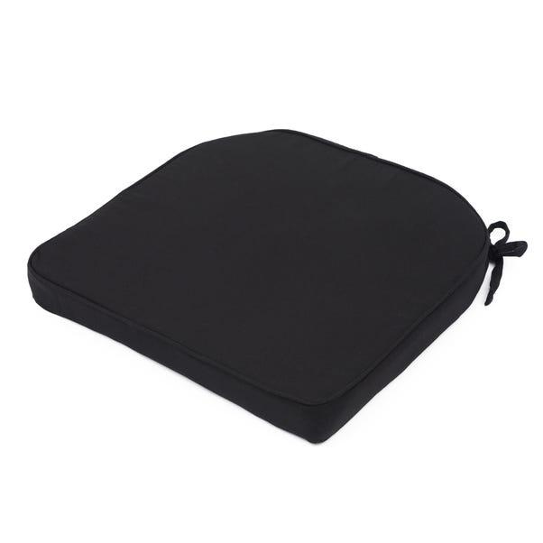 Fleur Seat Pad Black