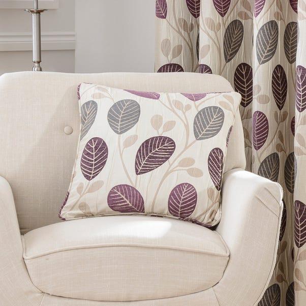 Turin Plum Cushion Plum Purple
