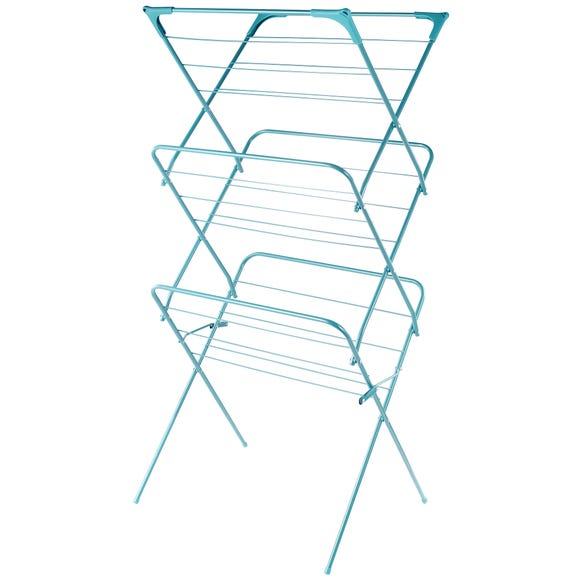 Spectrum Wide Airer Teal (Blue)