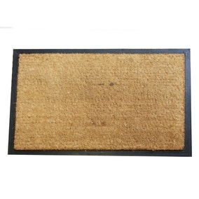 Jumbo Plain Rubber and Coir Doormat