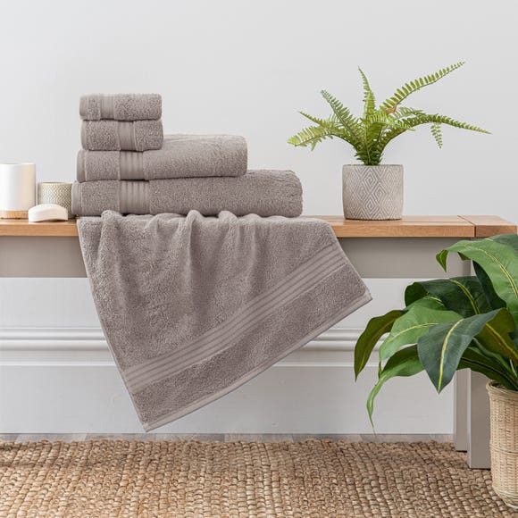 Stone Egyptian Cotton Towel  undefined