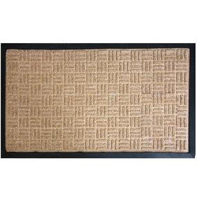 X Hatch Textured Doormat