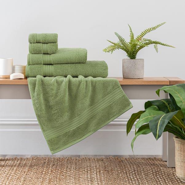 Woodland Fern Egyptian Cotton Towel  undefined