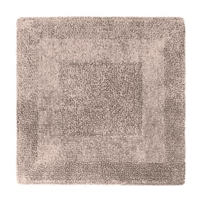 Super Soft Reversible Stone Square Bath Mat