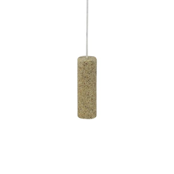 Resin Light Pull and Cord Sandstone (Brown)